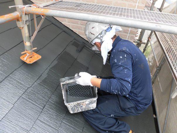 12.屋根上塗り